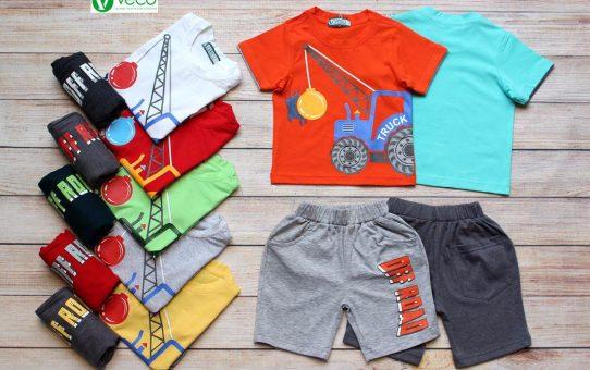 Quần áo trẻ em xuất khẩu giá sỉ VECO