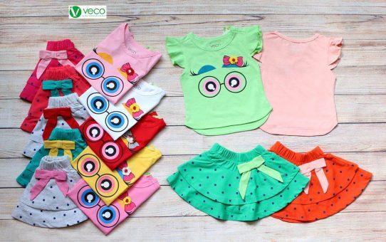 Quần áo trẻ em xuất khẩu giá sỉ 0901197946 - Bộ váy chấm bi