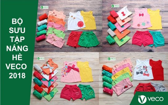 quần áo trẻ em xuất khẩu giá sỉ giới thiệu bộ sưu tập Nắng Hè 2018
