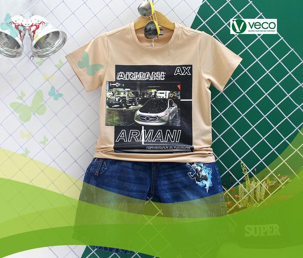Xưởng sỉ quần áo Tết 2020 cho bé trai-Xưởng may quần áo trẻ em xuất khẩu giá sỉ Veco