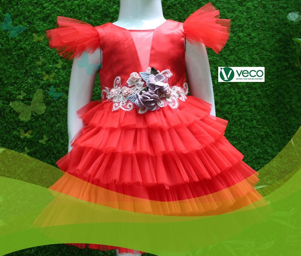 Xưởng sỉ quần áo Tết 2020 cho bé gái-Xưởng may quần áo trẻ em xuất khẩu giá sỉ Veco