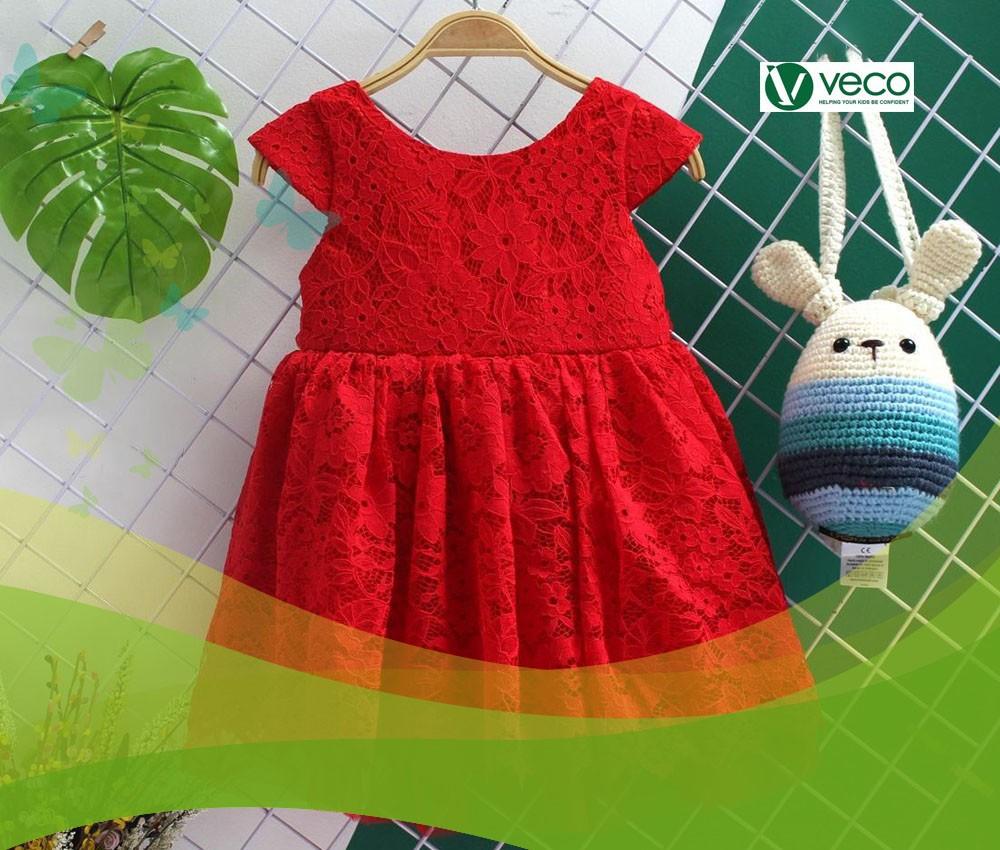 Địa chỉ bán sỉ quần áo trẻ em nữ hàng Tết 2020-Xưởng may quần áo trẻ em xuất khẩu giá sỉ Veco
