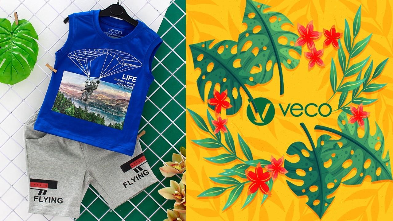 Quần áo trẻ em xuân hè 2021-Set đồ cực chất cho bé trai mùa xuân hè 2021